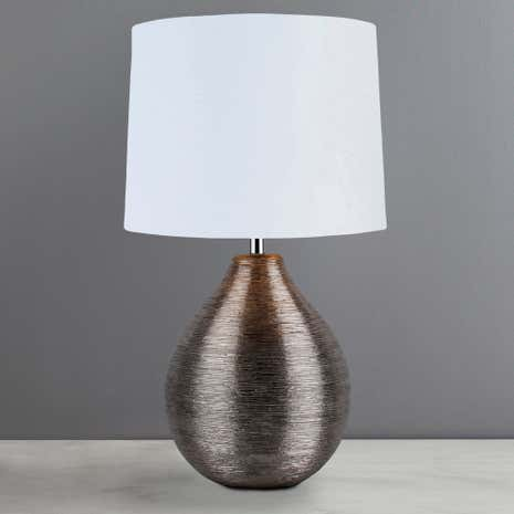 Seraphina Scratched Table Lamp