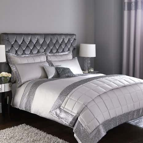 Astoria Silver Duvet Cover