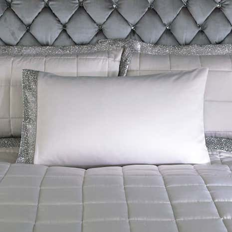 Astoria Silver Housewife Pillowcase