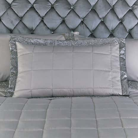 Astoria Silver Oxford Pillowcase