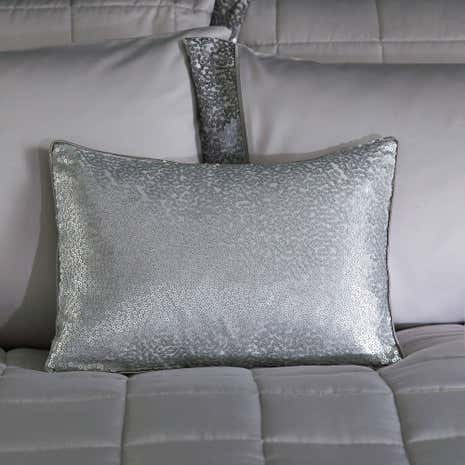 Astoria Silver Boudoir Cushion