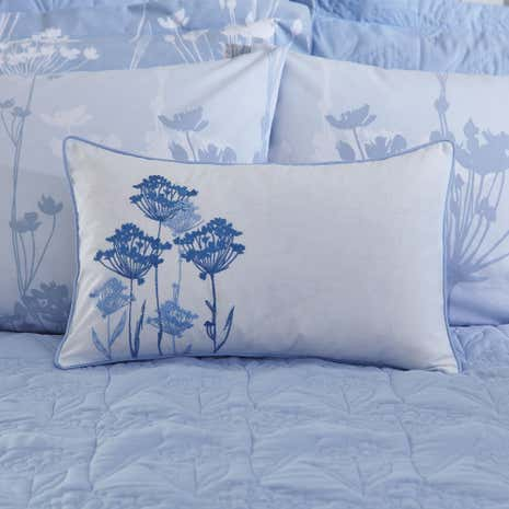 Bryony Blue Boudoir Cushion