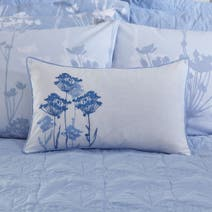 Blue Bryony Boudoir Cushion