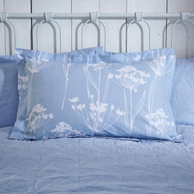 Bryony Blue Oxford Pillowcase