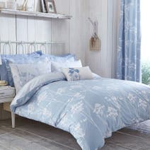 Bryony Blue Duvet Cover Set