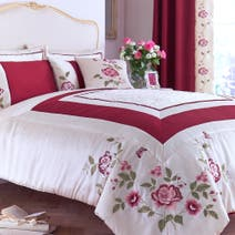 Red Catherine Bedspread