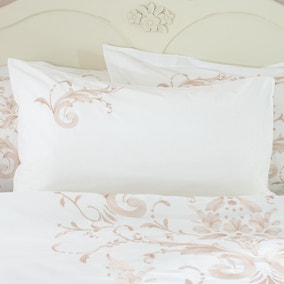 Claire Blush Housewife Pillowcase