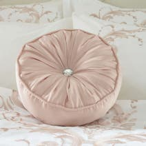 Blush Claire Round Cushion