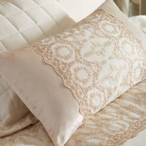 Gold Claudia Boudoir Cushion