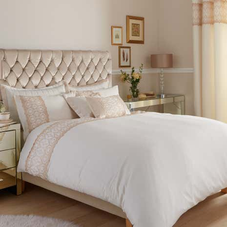 Claudia Gold Duvet Cover