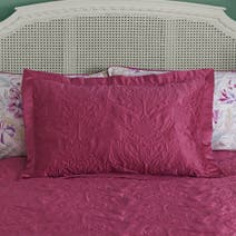 Raspberry Delilah Pillow Sham