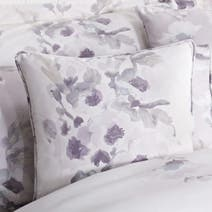 Mauve Delphine Square Cushion