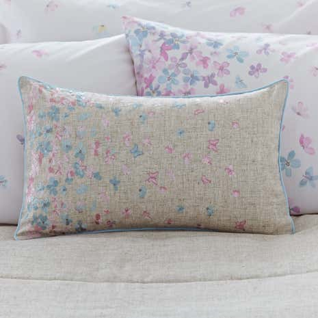 Emilia Natural Boudoir Cushion