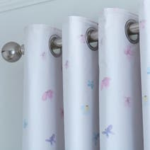 Emilia Natural Eyelet Curtains