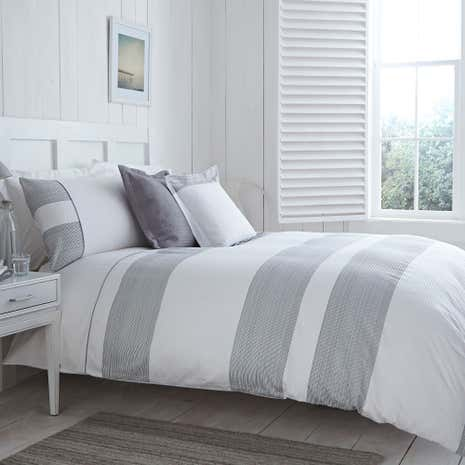 Harper Grey Duvet Cover