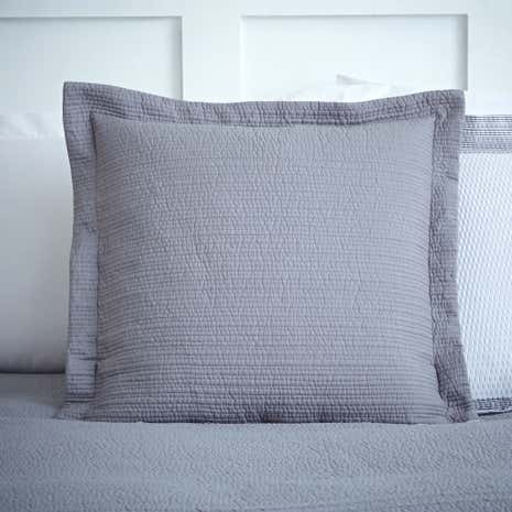 Harper Grey Square Cushion