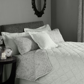 India Grey Bedspread