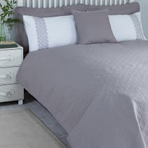 Grey Java Bedspread