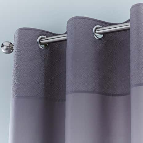 Java Grey Eyelet Curtains