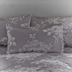 Laura Grey Jacquard Housewife Pillowcase