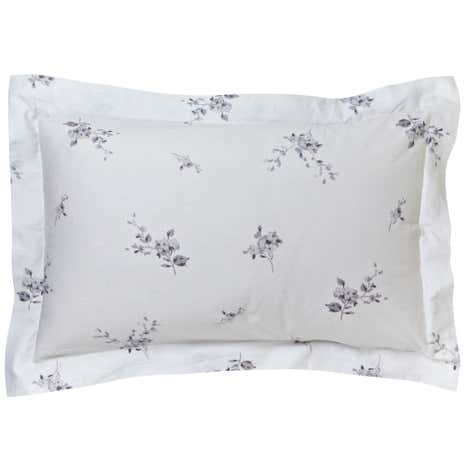 Laura Grey Jacquard Oxford Pillowcase