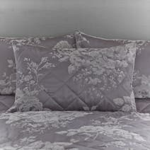 Grey Laura Pillow Sham