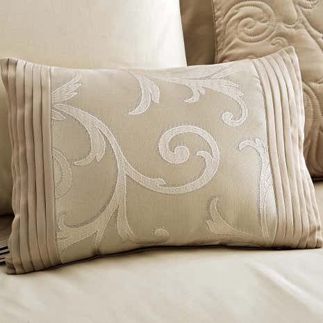 Lucia Natural Boudoir Cushion