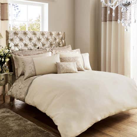 Lucia Natural Duvet Cover