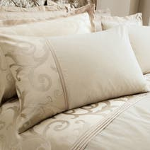 Natural Lucia Housewife Pillowcase