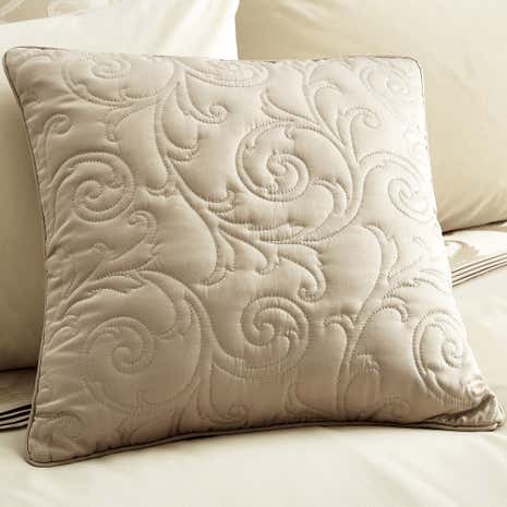 Lucia Natural Square Cushion