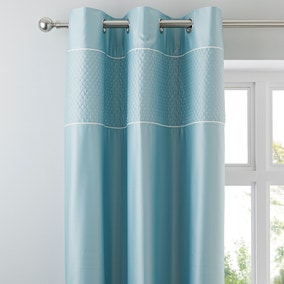Misaki Duck-Egg Thermal Eyelet Curtains