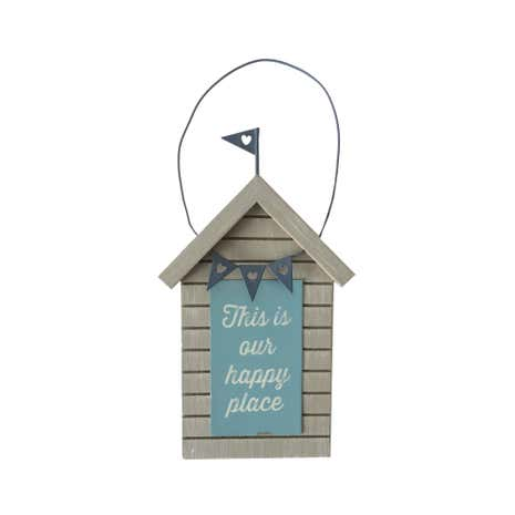 Beach Hut Hanging Sign