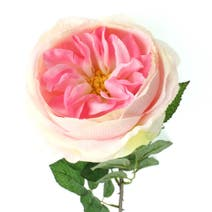 Artificial Pink Cabbage Rose