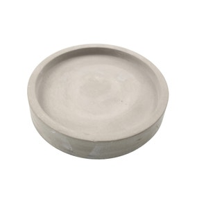 Cement Candle Plate