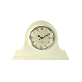 Cream Classic Mantel Clock