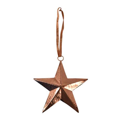 Copper Hanging Star