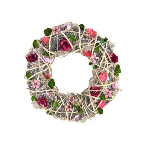 Country Faye Dried Wreath