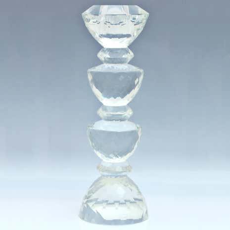 Dorma Cut Glass Candlestick