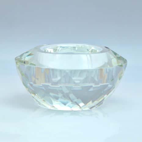 dorma cut glass tealight holder dunelm. Black Bedroom Furniture Sets. Home Design Ideas