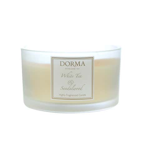 Dorma White Tea and Sandalwood Multi-Wick Candle