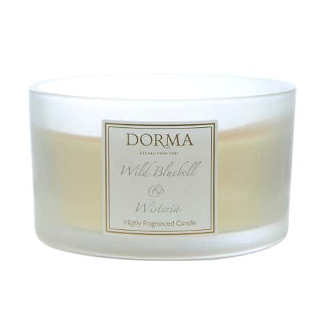 Dorma Wild Bluebell and Wisteria Multi Wick Candle