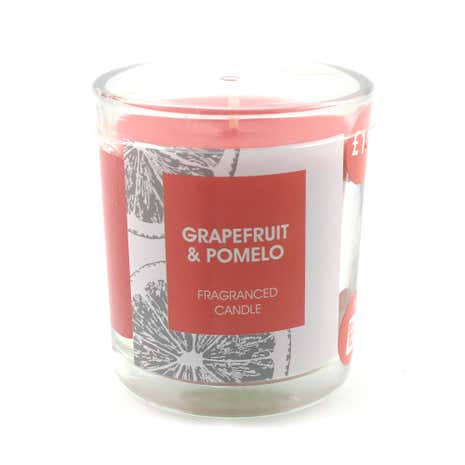 Grapefruit and Pomelo Candle in Glass