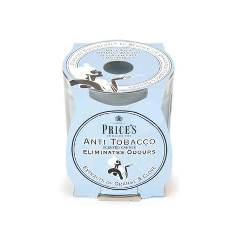 Prices Anti Tobacco Candle in Jar