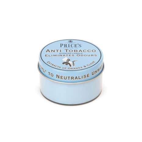 Prices Anti Tobacco Candle in Tin