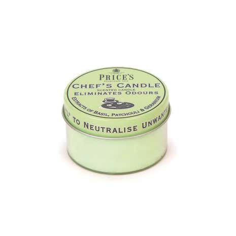 Prices Chefs Candle in Tin