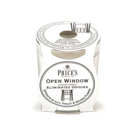 Prices Open Window Candle in Jar