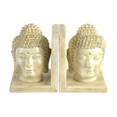 Natural Buddha Bookends