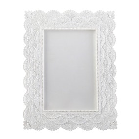 Resin Lace Effect Photo Frame