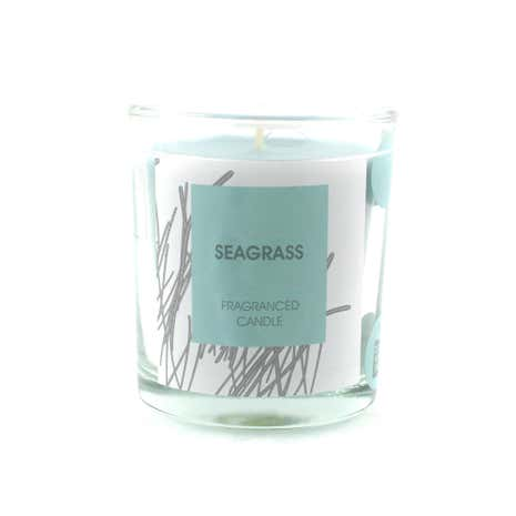 Seagrass Candle in Glass