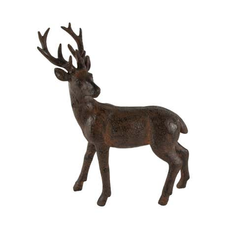 Small Brown Stag Ornament